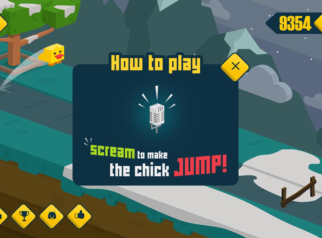 Chick Scream Run