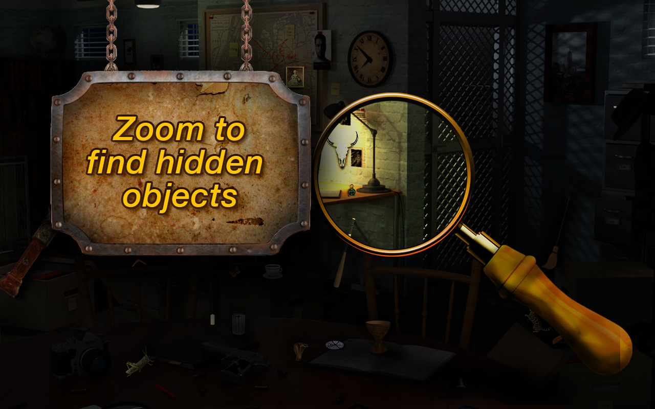 Hidden Objects Egyptian Legend