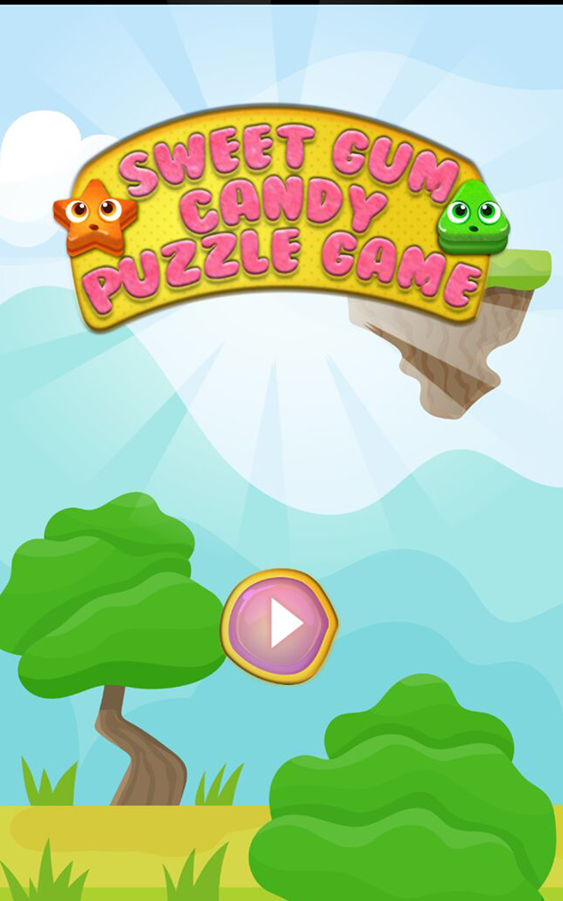 Sweet Gum Candy Puzzle Game